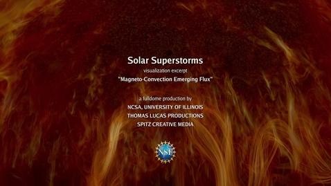 Thumbnail for entry Magneto-Convection Emerging Flux short