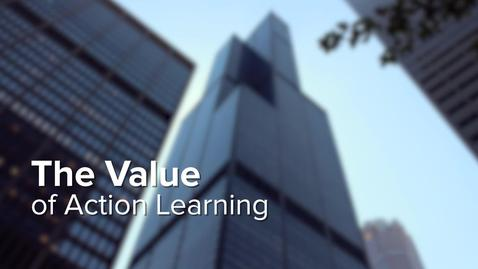 Thumbnail for entry The Value of Action Learning
