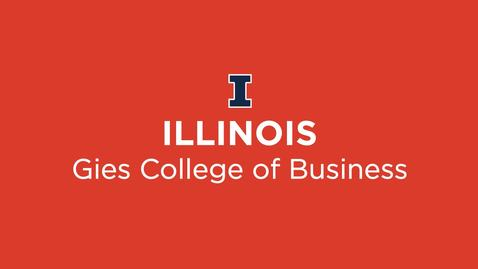Thumbnail for entry Gies College of Business Promise