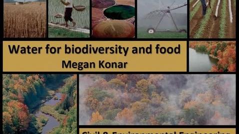 Thumbnail for entry NRES 2012 Spring Seminar Series - Megan Konar