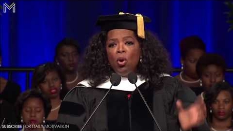 Thumbnail for entry Oprah Winfrey's Life Advice Will Change Your Future   One of the Best Motivational Video Ever