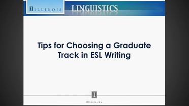 Graduate Students | Linguistics at Illinois