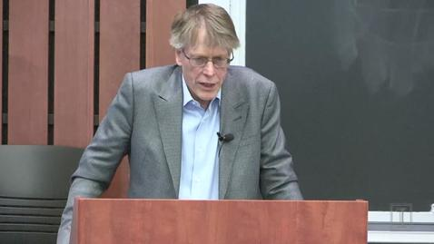 Thumbnail for entry LAUNCH Distinguished Lecture: Professor Lars Hansen