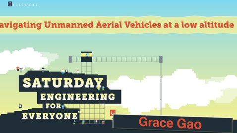 Thumbnail for entry Navigating Unmanned Aerial Vehicles at a low altitude