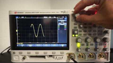 Thumbnail for entry Oscilloscope Trigger