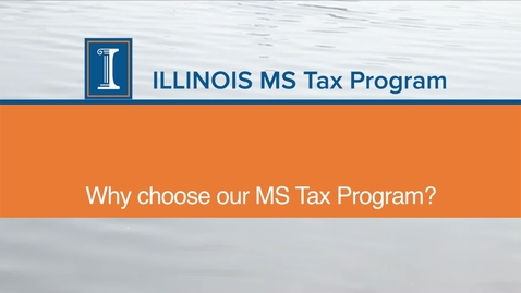 Thumbnail for entry Students MS Tax Program