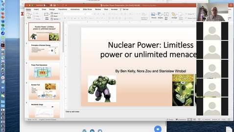 Thumbnail for entry May 4 Lab-Student Presentations-Alternative Energy - GEOL 380