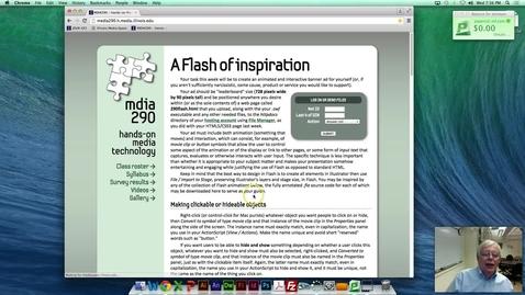 Thumbnail for entry MDIA 290 WordPress