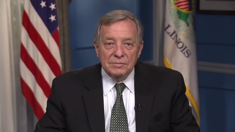 Thumbnail for entry Video message from Dick Durbin, U.S. Senate, presented at the 2021 Illinois Global Food Security Summit