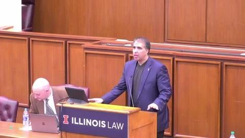 Thumbnail for entry Ann F Baum Lecture Ben-Shahar 3/2/2020