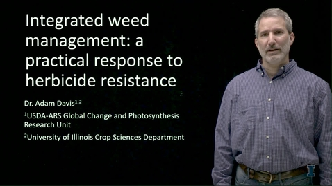 Thumbnail for entry Integrated Weed Management: The Details