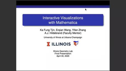 Thumbnail for entry IGL Spring 2020 - Interactive Visualizations with Mathematica