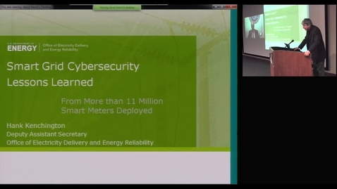 Thumbnail for entry Smart Grid Cybersecurity Lessons Learned