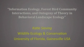 Thumbnail for entry NRES 2011 Fall Seminar Series - Katie Sieving