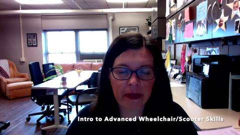 Thumbnail for entry V4d_Intro to Advanced Wheelchair_scooter skills