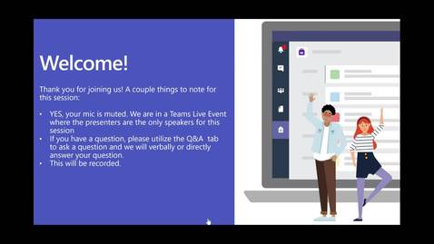Thumbnail for entry Intro to Microsoft Teams for Staff