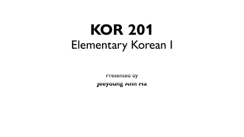 Thumbnail for entry KOR201 L2_L4