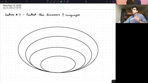 Thumbnail for entry CS/ECE 374 AL1/BL1 - Lecture 7 - Context Free Grammars
