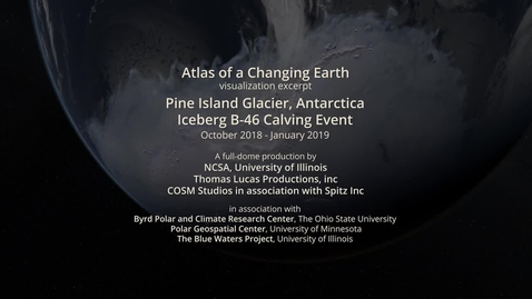 Thumbnail for entry Pine Island Glacier, Antarctica Iceberg B-46 Calving Event