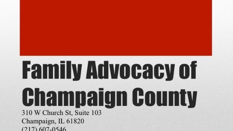Thumbnail for entry Oliva_Family Advocacy