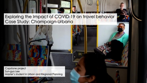Thumbnail for entry Exploring the impact of COVID-19 on local travel behavior