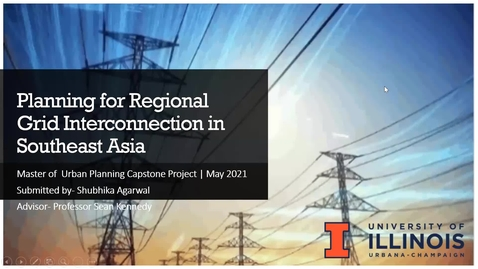 Thumbnail for entry Planning for Regional Grid Interconnection in Southeast Asia-Shubhika