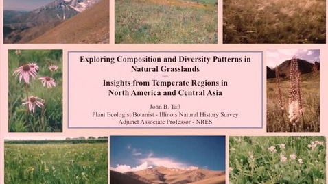 Thumbnail for entry NRES 2012 Spring Seminar Series - John B. Taft