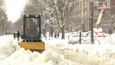 Thumbnail for entry Keeping Campus Open and Accessible During Winter Weather Events