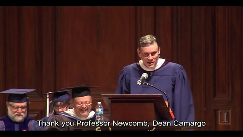 Thumbnail for entry English Creative Writing Convocation SP 2015 - Keynote Speech