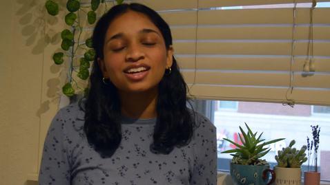 Thumbnail for entry Tara D'Souza, Grainger Engineer, Scholarship Recipient