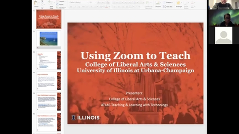 Thumbnail for entry Using Zoom To Teach Online Mar 18 '20 Workshop for LAS by ATLAS