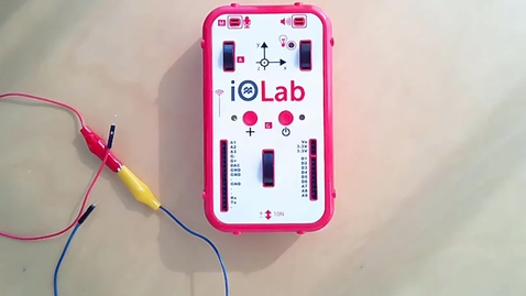 Thumbnail for entry Measuring Voltages Produced by IOLab
