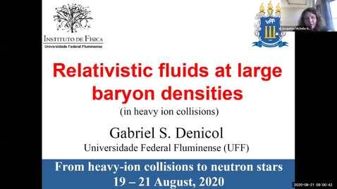 Thumbnail for entry Workshop: Heavy-ions to Neutron Stars: Gabriel Denicol