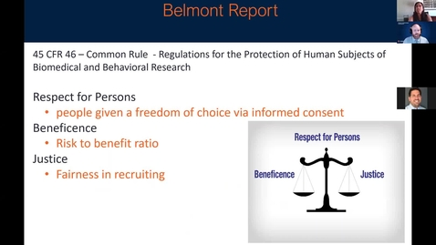 Thumbnail for entry Privacy and Research Human Subjects - Dr Anita Balgopal
