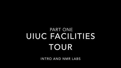 Thumbnail for entry UIUC Chemistry Facilities Tour Part 1 - NMR