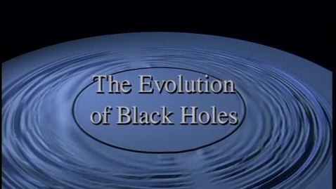Thumbnail for entry The Evolution of Distorted Black Holes