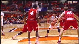 Thumbnail for entry Illinois Basketball Highlights vs. #1 Indiana 2_7