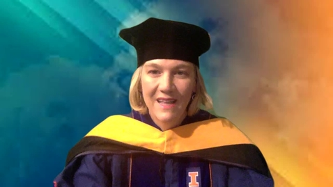 Thumbnail for entry Doctoral Address, Nicole Allen, Associate Head and Director of Graduate Studies