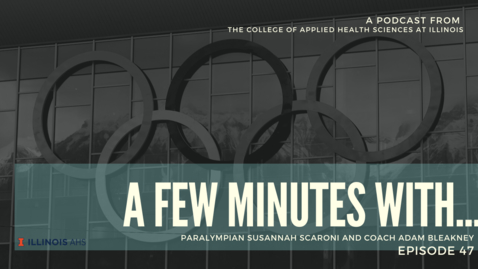 Thumbnail for entry A Few Minutes With ... COVID-19 and the cancellation of the Paralympic Games