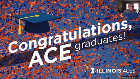 Thumbnail for entry ACE Dec 2020 Virtual Graduation Recognition