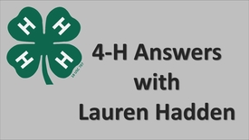 Thumbnail for entry Internship – 4-H Champaign County – Lauren Hadden