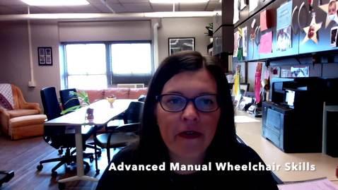 Thumbnail for entry V4e_Advanced Manual Wheelchair Skills