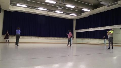 Thumbnail for entry Sara Hook, rehearsal, September 2020