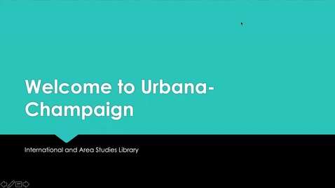 Thumbnail for entry Welcome to Urbana-Champaign