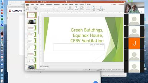 Thumbnail for entry April 27 Lab (Prof A presentation-green construction) - GEOL380