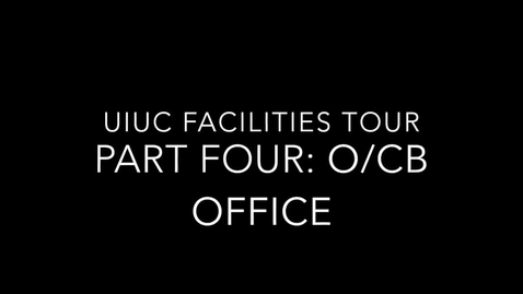 Thumbnail for entry DELETE UIUC Chemistry Facilities Tour Part 4: O/CB Office & Introduction to Roger Adams Lab