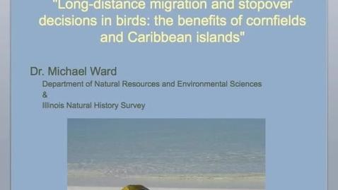 Thumbnail for entry NRES 2012 Fall Seminar Series - Dr. Michael Ward