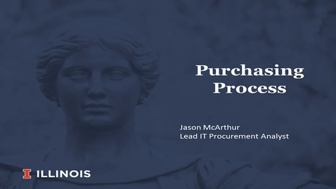 Thumbnail for entry Fiscal Enrichment Series 2 - Purchasing Process