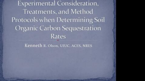 Thumbnail for entry NRES 2014 Fall Seminar Series 141205 - Kenneth R. Olson.mp4