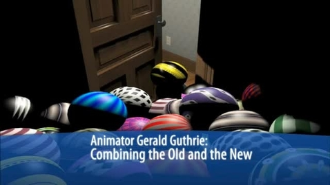 Thumbnail for entry Animator Gerald Guthrie: Combining the Old and the New